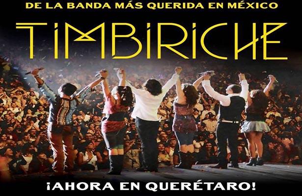 Confirman fecha de Timbiriche en Querétaro