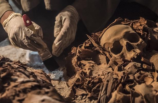 Descubren momias de la época del Nuevo Imperio