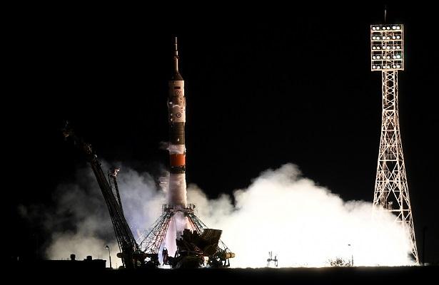 Despega nave Soyuz rumbo la Estación Espacial Internacional