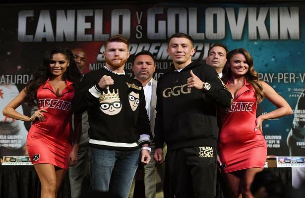 """Canelo"" y Golovkin se declaran listos para pelear"