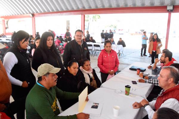 """Llega Calzada a La Griega con """"Presidencia en tu plaza"""""""