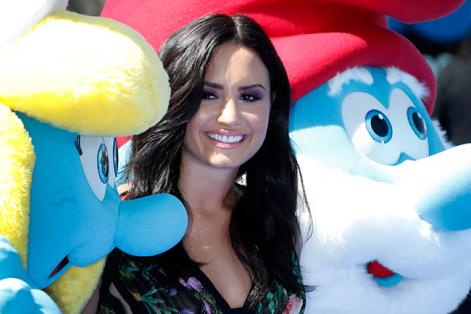 """Demi Lovato, inspirada ante la idea de """"crear conciencia"""", es una de las famosas con mayor trayectoria solidaria: """"mi voz puede marcar la diferencia"""". Foto: Paul Buck (EFE)."""