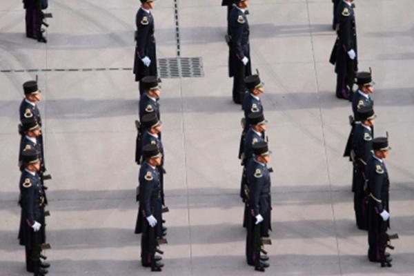 Inicia Desfile Militar de la Independencia de México