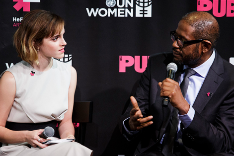 """Emma Watson asume seriamente """"la oportunidad de poder cambiar las cosas"""". Foto: Justin Lane (EFE)."""