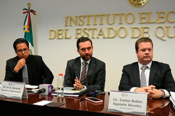 IEEQ garantiza transparencia en el proceso electoral