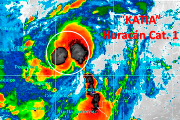Tlaxcala se mantiene en alerta por huracán Katia