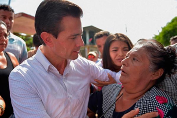 Peña Nieto viaja a Chiapas para evaluar daños por sismo