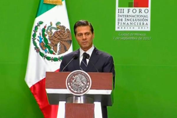 Peña Nieto presentará iniciativa para inclusión financiera