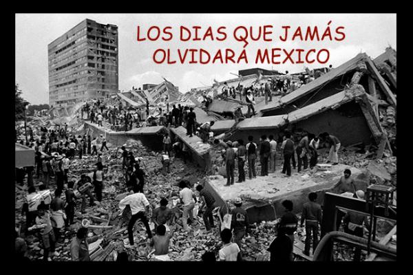 Los terremotos más catastróficos en México