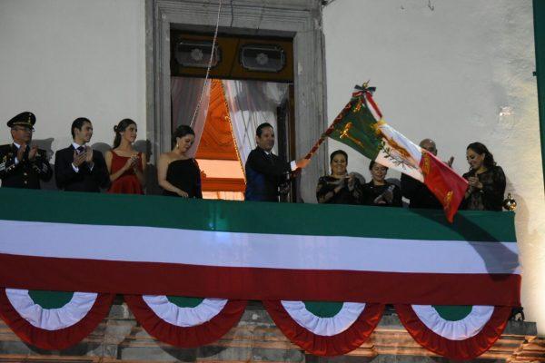Encabeza Pancho ceremonia del Grito de Independencia