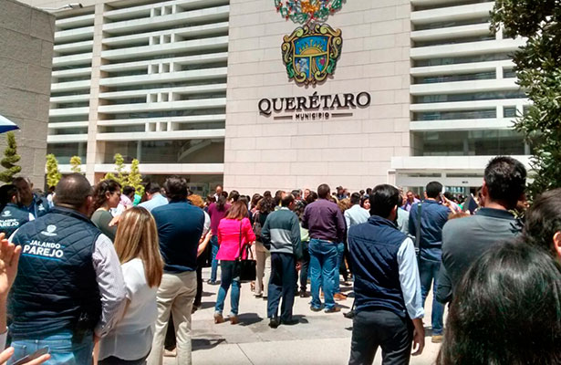 Sismos se sienten en Querétaro