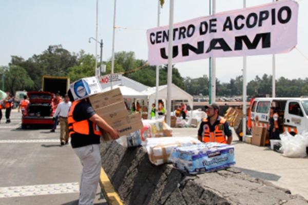 UNAM envía 50 toneladas de víveres a Oaxaca