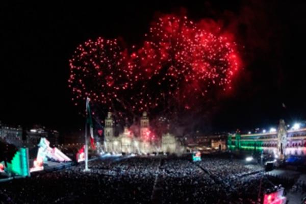 México celebra 207 años de riqueza cultural e Independencia