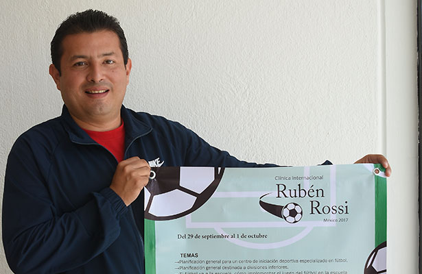 Invitan a clínica impartida por Rubén Rossi