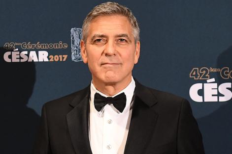 """George Clooney cree que """"la caridad es una causa muy importante"""". Foto: Christophe Petit Tesson (EFE)."""