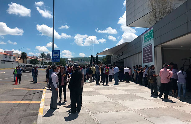 Sensación sísmica de 3.8 grados en Querétaro