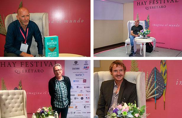 El encuentro de voces en el Hay Festival Querétaro 2017