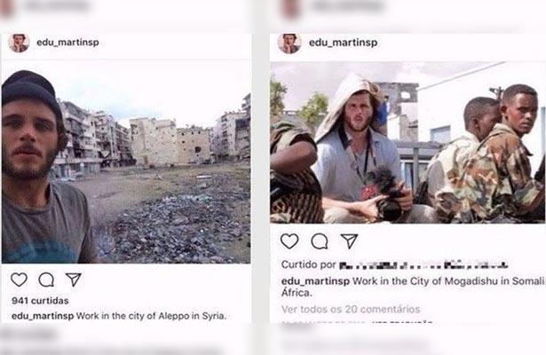 Surf, guerra e Instagram…