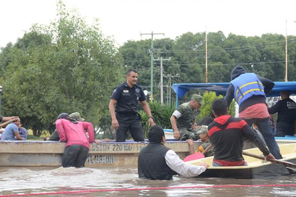 Víctimas de las lluvias tendrán ayuda necesaria