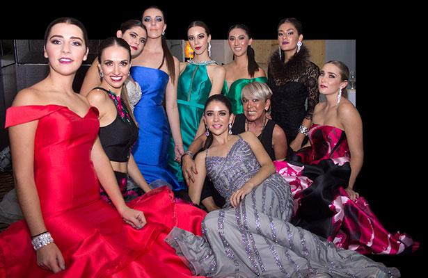 Desfile de vestidos de gala Invierno 2017