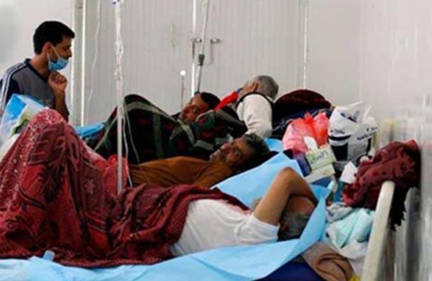 Más de 600 mil infectados de cólera en Yemen