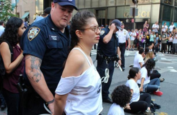 EUA aumentó 42 por ciento arrestos de indocumentados
