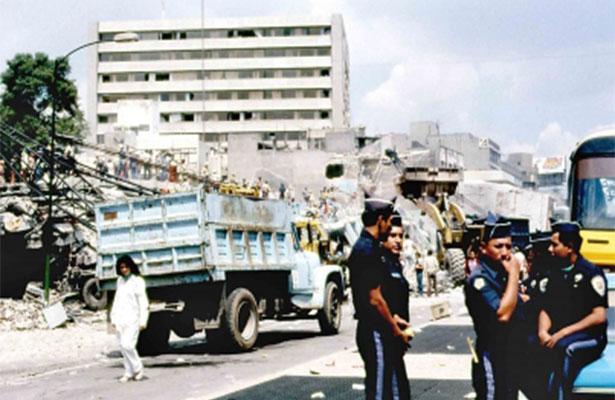 """""""La Pulga"""", héroe del terremoto de 1985"""