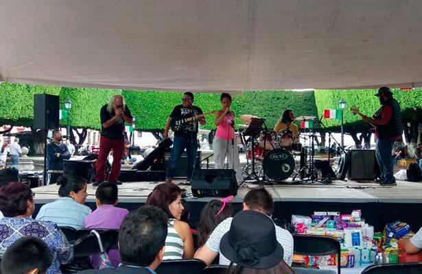 Concierto a beneficio de damnificados de Oaxaca