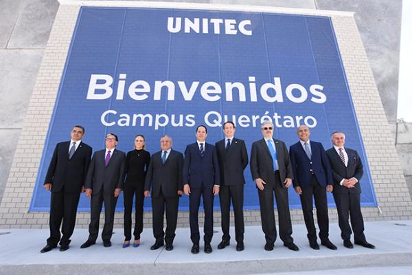 Inaugura Pancho octavo campus de la UNITEC