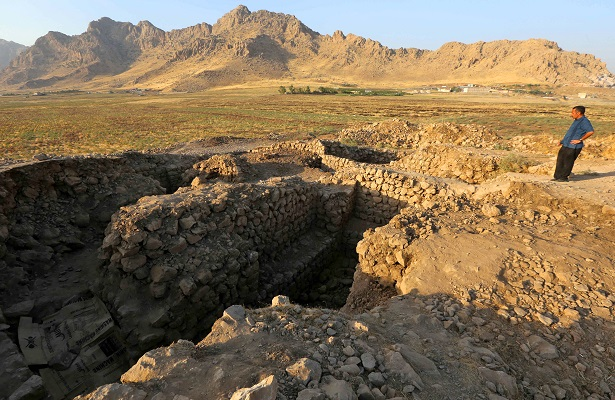 Sitio arqueológico queda desierto en el Kurdistán iraquí