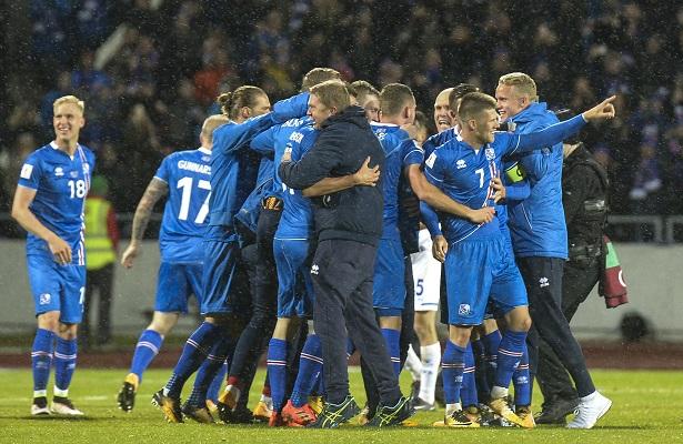 Islandia clasifica por primera vez para un Mundial