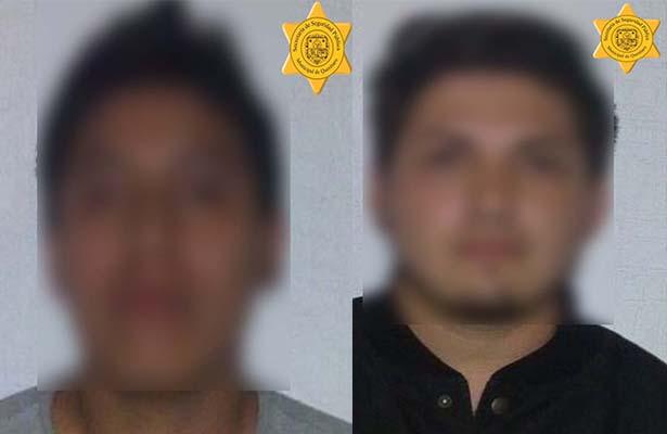 Dos detenidos por robar en su lugar de trabajo