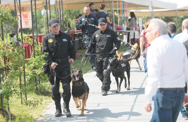 Coahuila reconoce a perros rescatistas