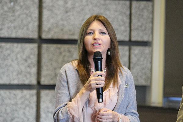 Reeligen a Beatriz Hernández como lideresa de AMIQRO