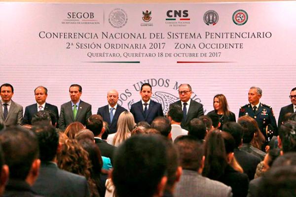 Inaugura Pancho Conferencia Nacional del Sistema Penitenciario