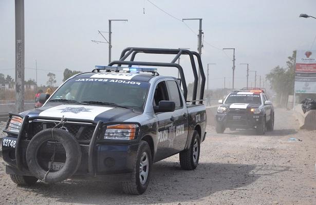 Evitan robo de vagones en Santa María Magdalena
