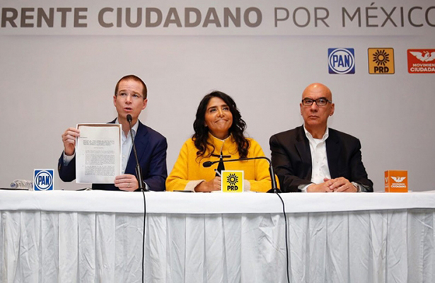 Rechazan regresar financiamiento público PAN, PRD y MC
