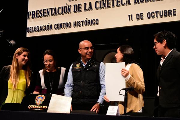 Presentan Cineteca Rosalío Solano