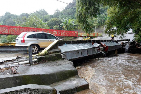 97 rescates de emergencia por tormenta Nate en Costa Rica