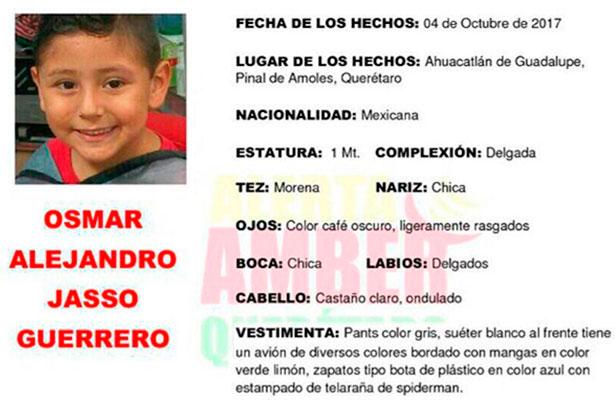 Desaparece niño en Ahuacatlán de Guadalupe, Pinal de Amoles