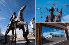 Estatua ecuestre de Pancho Villa
