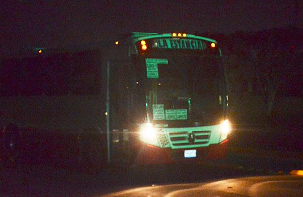 Necesario el transporte nocturno, insiste Ortiz