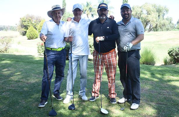 Convivencia con jugadores de golf en Balvanera