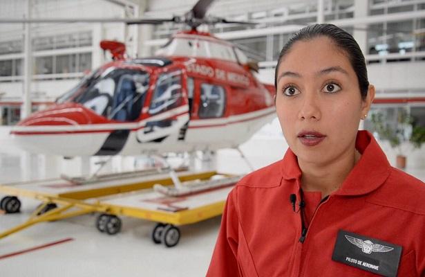 Relámpagos integra a primera mujer en operar aeronave de rescate