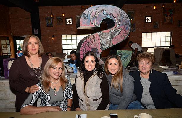 Iliana Palacios y María Rita celebraron su aniversario