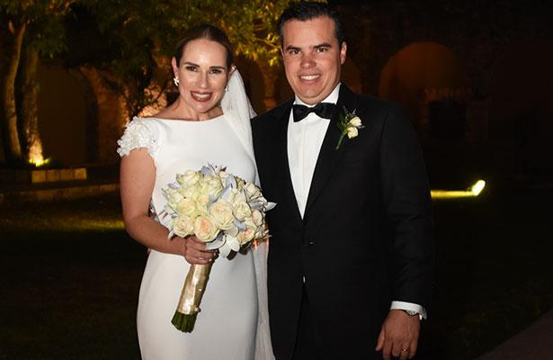 Nupcias de Ana Moreno y Alejandro Acuña