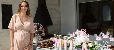 Diana Vallarino de Cruz festejó la inminente llegada de Mila
