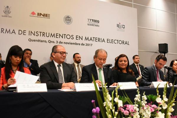 Garantizan proceso electoral digno y transparente
