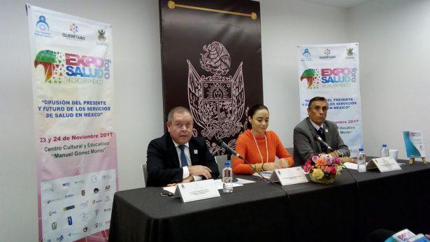 """Expo Foro Salud """"Hecho en México"""" en el CECEQ"""
