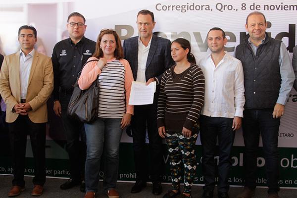 Encabeza Kuri Feria del Empleo en Corregidora
